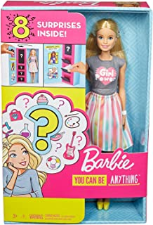 Barbie Doll with 2 Career Looks That Feature 8 Clothing...