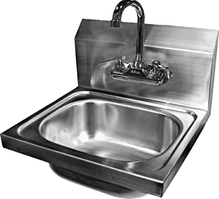 ACE Stainless Steel Wall Mount Hand Sink with 4