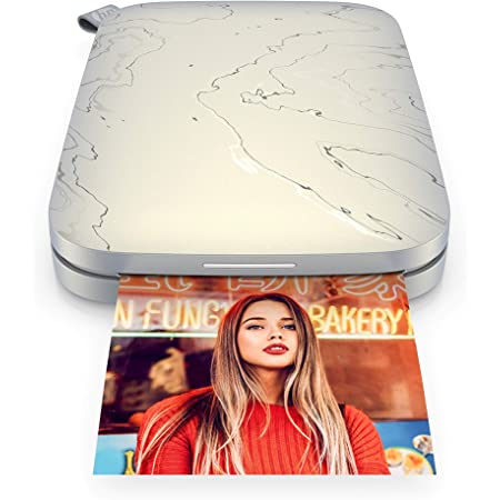 """HP Sprocket Select Portable 2.3x3.4"""" Instant Photo Printer (Eclipse) Print Pictures on Zink Sticky-Backed Paper from your iOS & Android Device."""