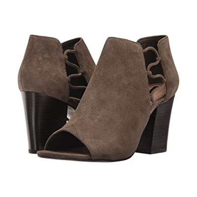 Tahari Post (Olive Suede) High Heels