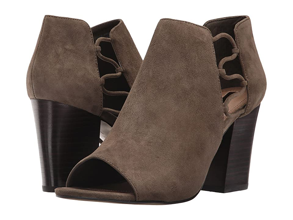 Tahari Post (Olive Suede) High Heels