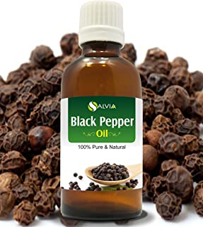 BLACK PEPPER OIL 100% NATURAL PURE UNDILUTED UNCUT ESSENTIAL OIL 15ML