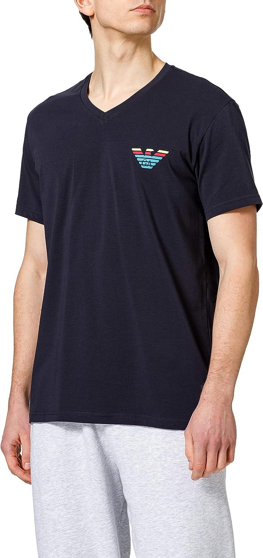 Emporio Armani Underwear T-Shirt Pop Logo Camiseta para Hombre