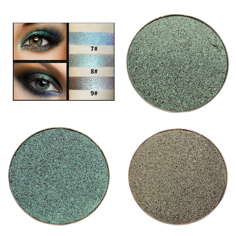 金属無視説明Baosity アイシャドウ 化粧品 パレット きらめき アイシャドウ パレット メイクアップ 魅力的 全3種類 - 8#
