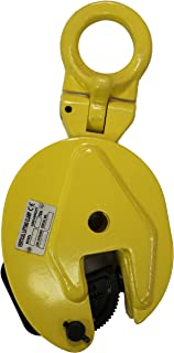 V-Lift Industrial Vertical Plate Lifting Clamp Steel 2204 lb WLL