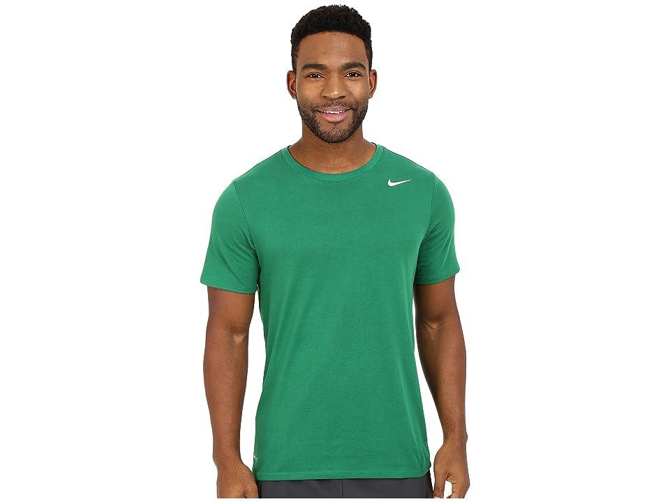 Nike Dri-FITtm Version 2.0 T-Shirt (Pine Green/Pine Green/White) Men