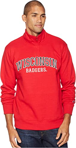 Wisconsin Badgers Powerblend® 1/4 Zip