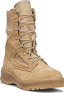 B Belleville Arm Your Feet Men`s 390 DES Hot Weather Combat Boot, Tan - 12 R