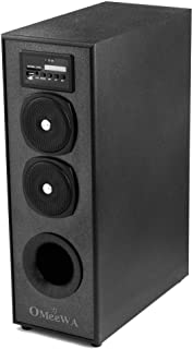OBAGE OMEEWA MT-525X Home Theaters Bluetooth Speakers Tower with Bluetooth 5.0,USB,AUX