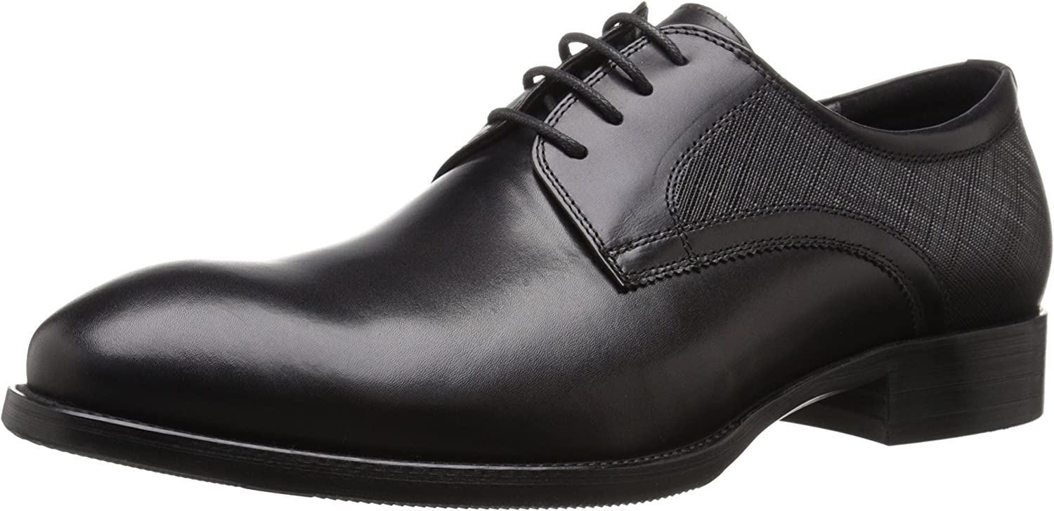 ZANZARA Men's Bruckner Oxford, Black, 11 D US