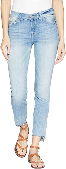 7 For All Mankind Roxanne Kick Side in Light Riviera