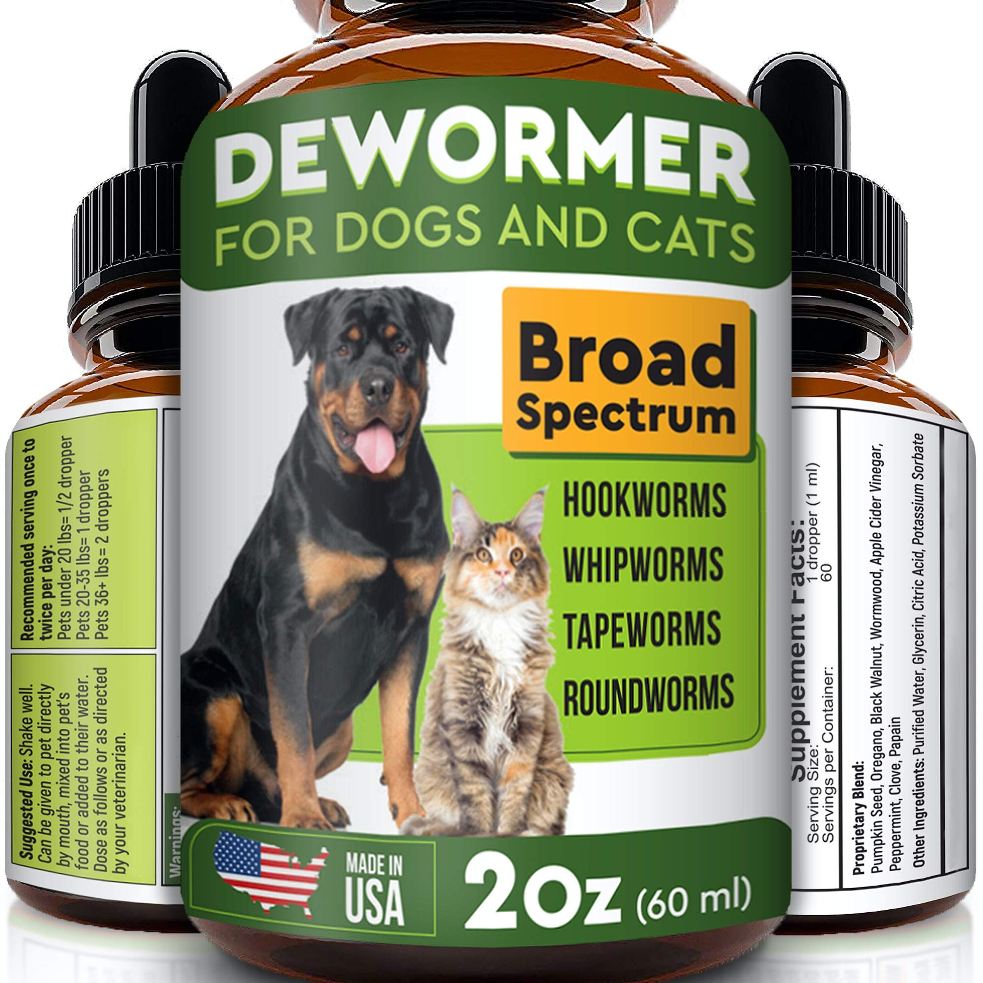 Pawesome Dewormer Dogs Cats Eliminates