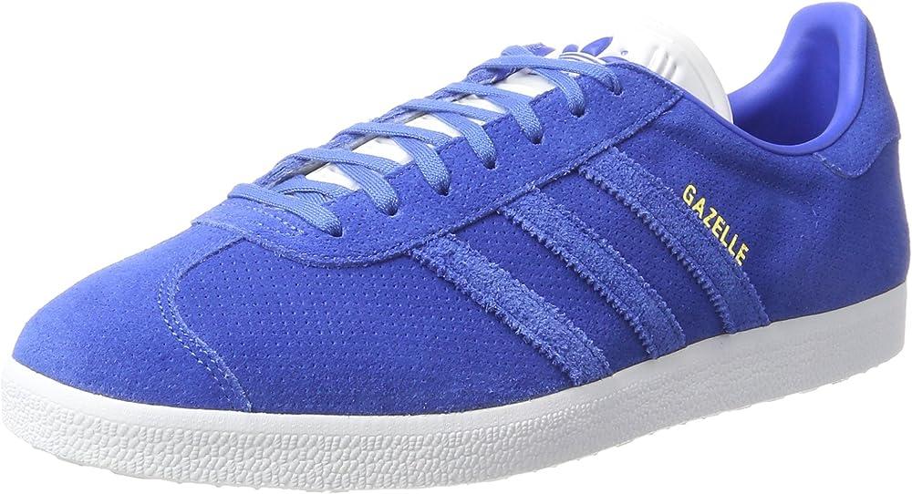Adidas gazelle, scarpe sneakers da uomo, in pelle scamosciata BB5476B
