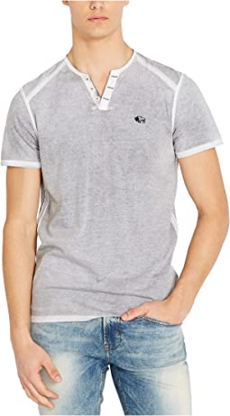 Karox Short Sleeve Split-Neck