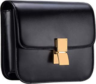 Women Shoulder Bag Genuine Leather Handbags Ladies Vintage Crossbody Purse