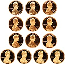 2000-2001 2002 2003 2004 2005 2006 2007 2008 2009 Lincoln Memorial Proof 13-Coin Set (Includes all 4 coins from 2009) Complete Decade All S Mintmarks Gem Proof Deep Cameo DCAM