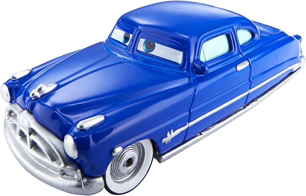 Mattel ,disney cars dhf51 ,die cast veicolo cambia colore doc hudson