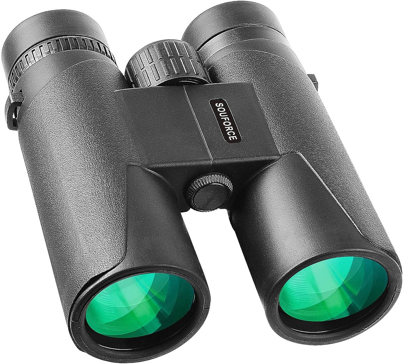 SOUFORCE 10x42 High Power Binocular Waterproof 即日出荷 Adults 祝開店大放出セール開催中 Binoc for
