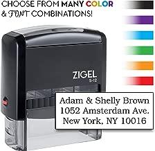 ZIGEL S+12 Self Inking Rubber Stamp 3/4