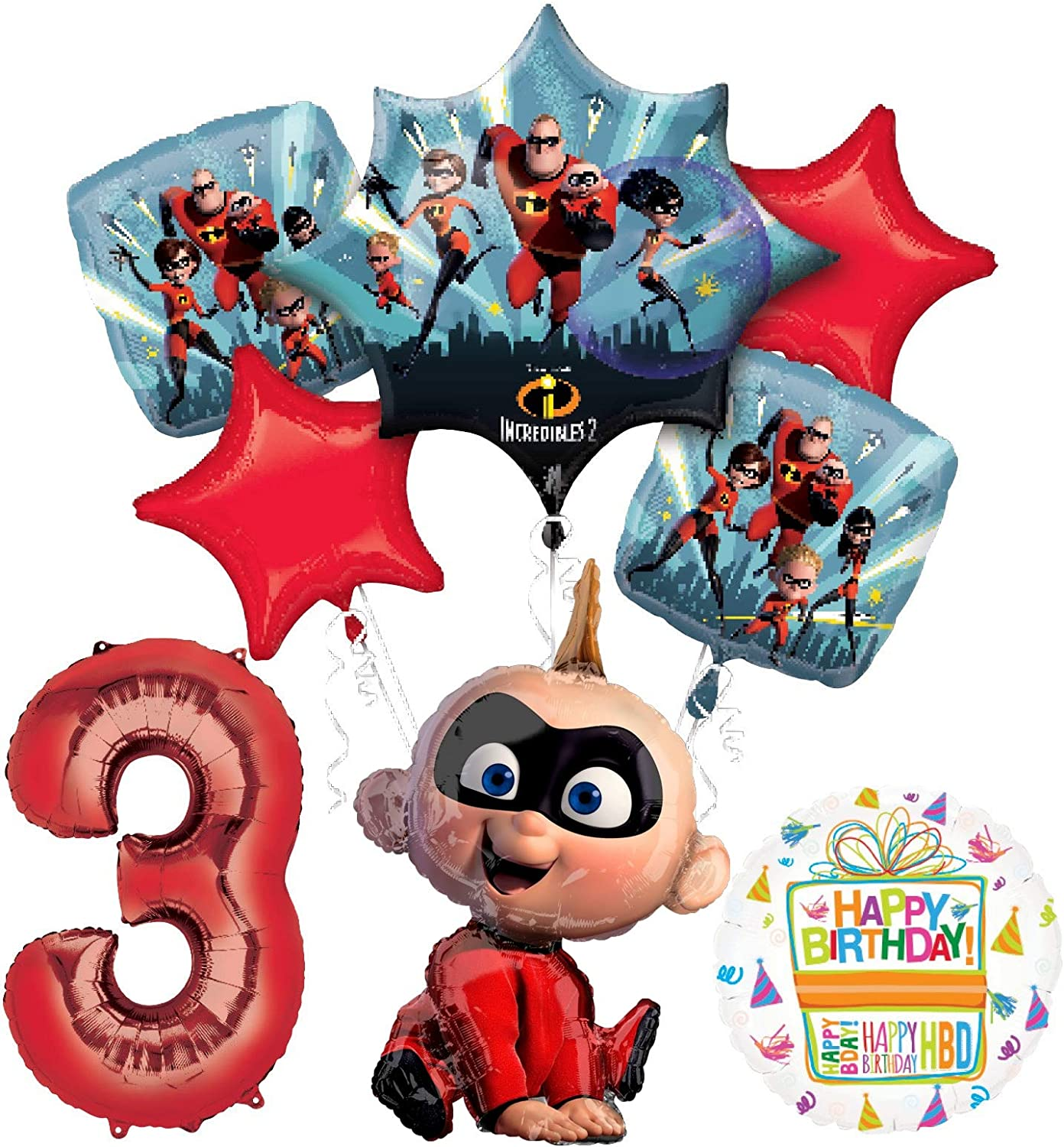 Incredibles 5% OFF Jack party Outlet ☆ Free Shipping supplies Balloon Birthday 3rd Bouque