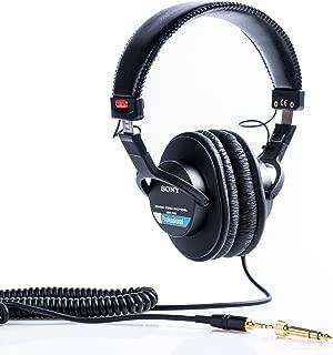 Sony 索尼 MDR7506 专业监听降噪耳机HIFI 听歌专业录音 耳机头戴式游戏耳机 黑色
