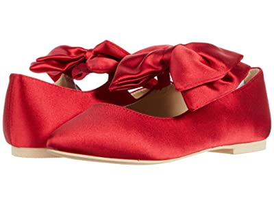 Janie and Jack Bow Flat (Toddler/Little Kid/Big Kid) (Red) Girl