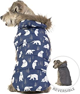 Friends Forever Cozy Dog Knit Sweater Hoodie Winter Furry Stripe Clothes Holiday Outwear Apparel