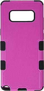 MyBat Samsung-Galaxy Note 8 Natural Hot Pink/Black TUFF Hybrid Phone Protector Cover [Military-Grade Certified]