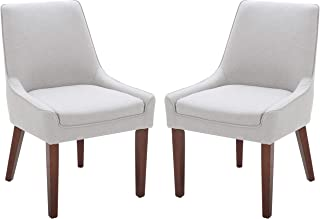 Rivet Contemporary Welt-Trimmed Dining Chair, 35