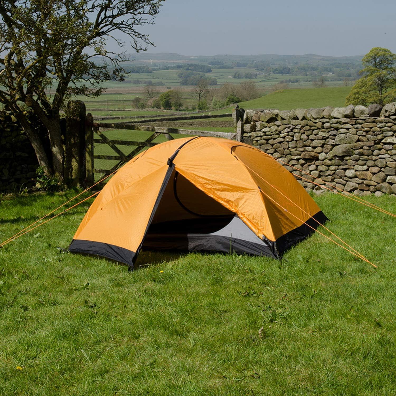 Snugpak Journey Trio Backpacking Tent, Sunburst orange