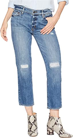 Disrupt Rip & Repair Boy Jeans in Flat Iron Rigid