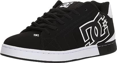 DC Men's Net Se Skate Shoe Black White D D Us