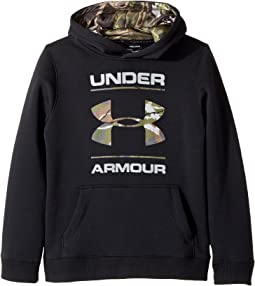 Under Armour Kids UA Rival Camo Fill Hoodie (Big Kids)