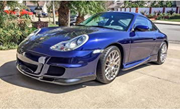 KBD Body Kits Compatible with Porsche 996 1999-2001 / Boxster 1997-2004 GT 3 Look 1 Piece Flexfit Polyurethane Front Bumper. Extremely Durable, Easy Installation, Guaranteed Fitment, Made in the USA!