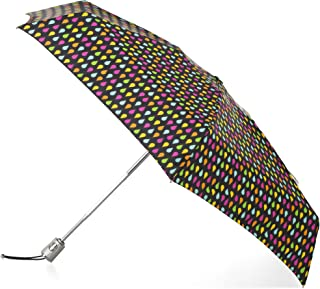 Automatic Open Close Water-Resistant Mini Travel Foldable Umbrella with Sun Protection
