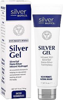 American Biotech Labs - Silver Biotics - Silver Gel - SilverSol Nano-Silver Infused Hydrogel - 4 oz.