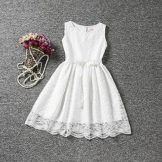 16e7d8e0e Morbuy Ropa de niñas, Encaje Hueco Vestidos de Fiesta de Princesa Super  Lindo Diseñador de