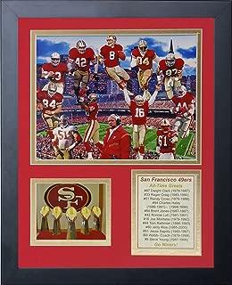 Legends Never Die NFL All-Time Greats Framed Photo Collage