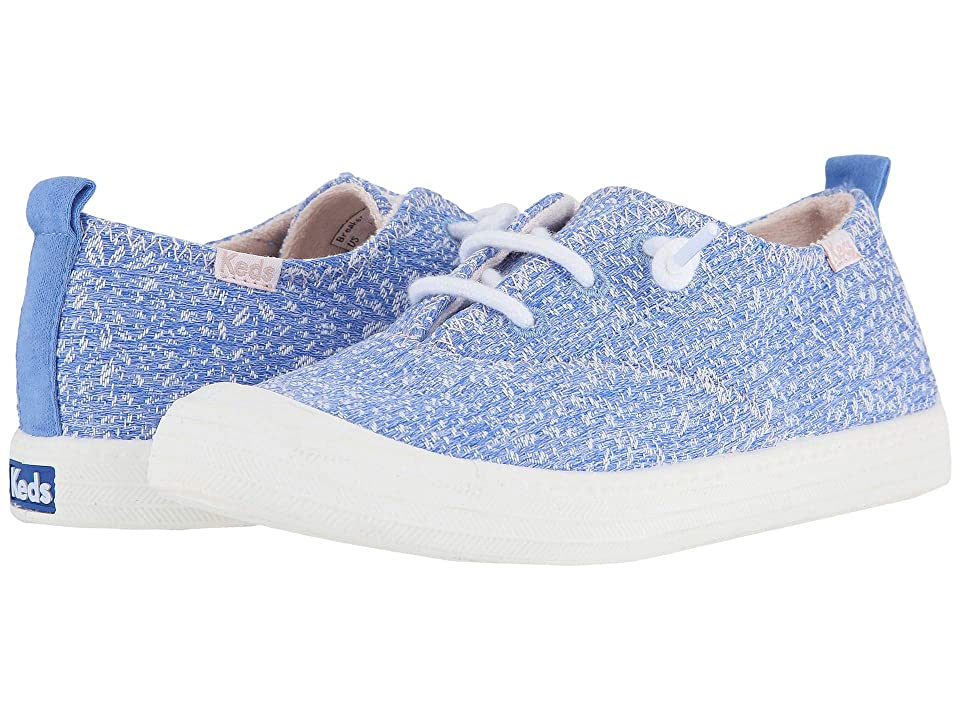 Keds Kids Breaker (Little Kid/Big Kid) (Blue Terry Floral) Girl