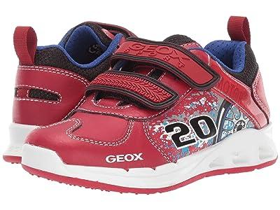 Geox Kids Jr Dakin 5 (Little Kid) (Red/Black) Boys Shoes