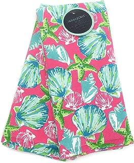 Cynthia Rowley Tropical Beach Seashells Kitchen Towel Set