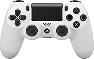 Sony - Dualshock 4 V2 Mando Inalámbrico, Color Blanco (Glacier White) PS4 - Edición Exclusiva Amazon