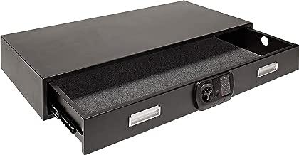 SnapSafe Under Bed Safe 75400, Matte Black, Gun Storage and Security