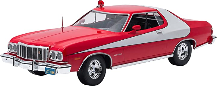Modellino auto starsky & hutch 1976 ford gran torino scala 1:18 greenlight 19017