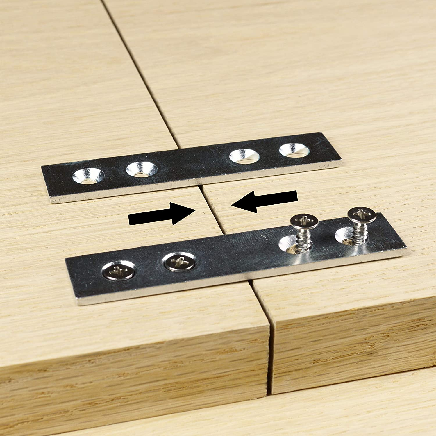 Pack Mesa Mall of 8 Clamping Mending Steel Bracket Straight Plate Max 78% OFF Brac