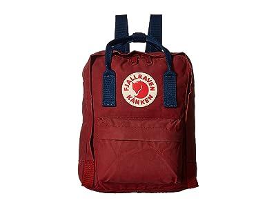Fjallraven Kanken Mini (Ox Red/Royal Blue) Backpack Bags