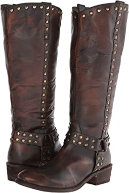 Studded Harness Riding Boot