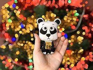 Felt Polar Bear Toys Ornaments Polar Bear Felt Ornament White Bear Felt Nursery Decorations Animals Felt Woodland Decorations Gift For Kids Brownie Bear Gift
