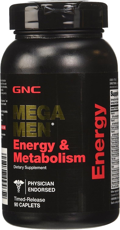 Safety and trust GNC Mega Men Energy 90 Metabolism Sacramento Mall Supplement Count