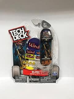 Tech Deck Blind Series 4 Reaper w Flames Fingerboard Skateboarding toy Rare